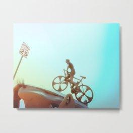 Desert Clime(b)s Metal Print