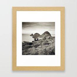 ... L'île du bout du Monde II ... Framed Art Print