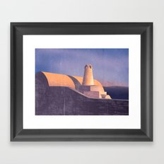 Architexture Framed Art Print