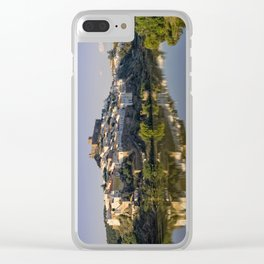 Mertola river view, Portugal Clear iPhone Case