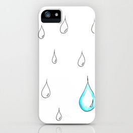 Emphasis by Contrast iPhone Case