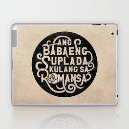 Ang Babaeng Suplada Kulang Sa Romansa Laptop & iPad Skin