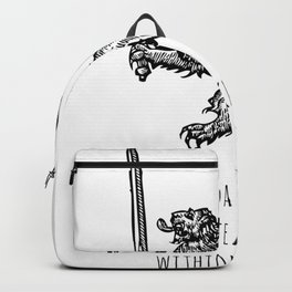TO DEFEAT THE DARKNESS Backpack
