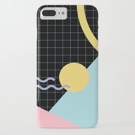 Memphis Pattern 7 - 80s - 90s - Retro iPhone Case