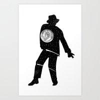 Moon Walker 5 Art Print