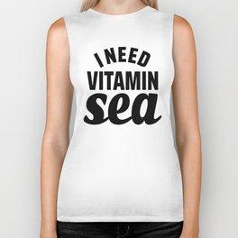 I Need Vitamin Sea Biker Tank