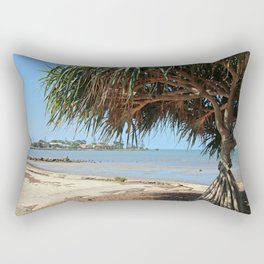Pandanus on the Bay Rectangular Pillow