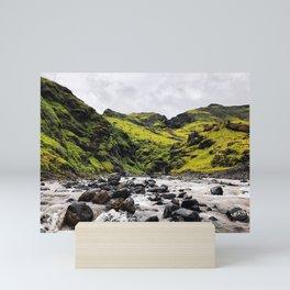 Icelandic Landscape Mini Art Print