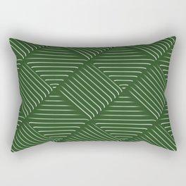 Diagonal Stripes Background 34 Rectangular Pillow