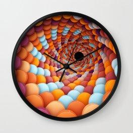 Colorful Portal Wall Clock