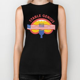 Stable Genius - Mouth Biker Tank