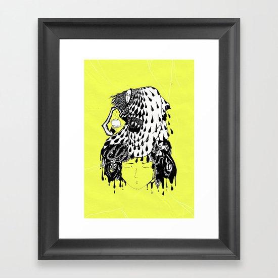Monster II Framed Art Print