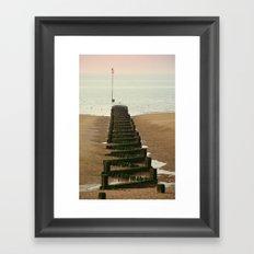 Heacham Groins 2/2 Framed Art Print