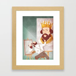Ego (king) Framed Art Print