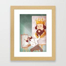 Ego (king) Framed Art Print