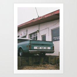 Truck Butt Art Print