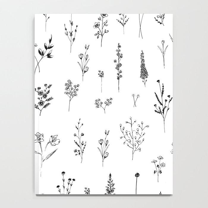 Wildflowers Notebook