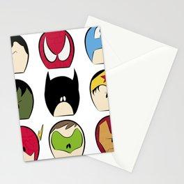 Mini Superhero Collage Stationery Cards