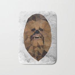 Wookie low poly Bath Mat