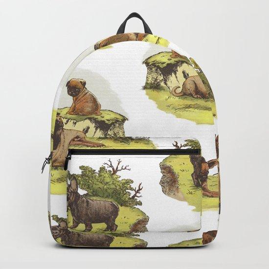 Vintage Dogs Backpack
