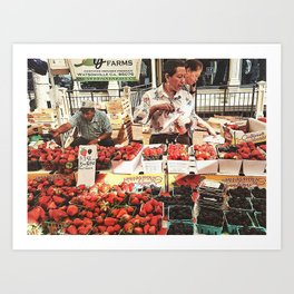Fruit Day Art Print