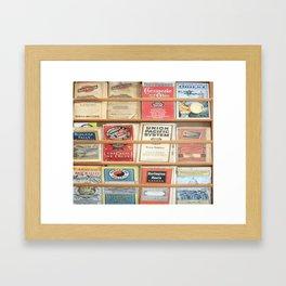 American Rail Brochures, Steamship Lines & More! Framed Art Print