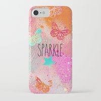 sparkle iPhone & iPod Cases featuring Sparkle by SannArt