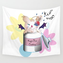 Moogle Caught Red Handed Wall Tapestry