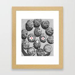 Nugget Face Framed Art Print