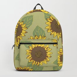 Vintage Sunflowers Backpack