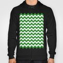 Chevron (Forest Green/White) by 10813apparel