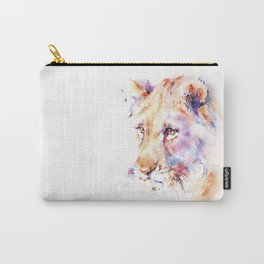 Patience . Lion Carry-All Pouch
