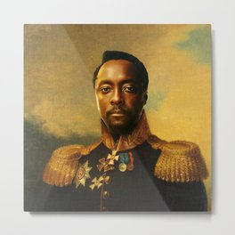 will.i.am - replaceface Metal Print