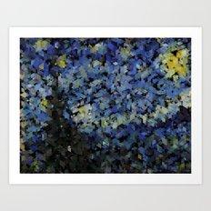 Panelscape Iconic - Starry Night Art Print
