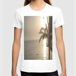 Tunisian African Beach Sunrise T-shirt