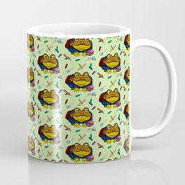 Little Toad Goes to School Coffee Mug