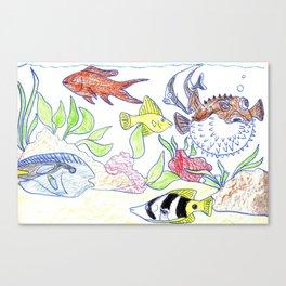 Reef World Canvas Print