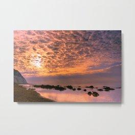 Cloud Illuminations Metal Print