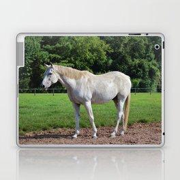 White Beauty Laptop & iPad Skin