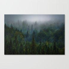 I dream in evergreen Canvas Print