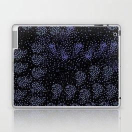 Blue circle on black Laptop & iPad Skin