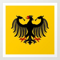 german Art Prints featuring German Eagle by Richard Fay