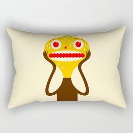 Yo Caterpillar panic head Rectangular Pillow