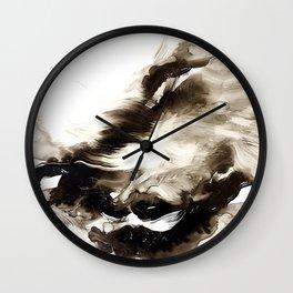 Black + White 2 Wall Clock