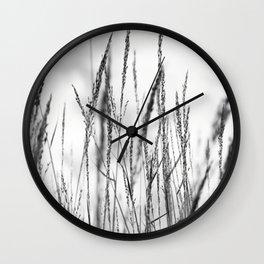 Long grass Wall Clock
