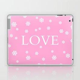 Winter Love - pink - more colors Laptop & iPad Skin