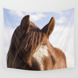 Modern Horse Print Wall Tapestry