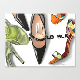 Urban Shoe Legend Canvas Print