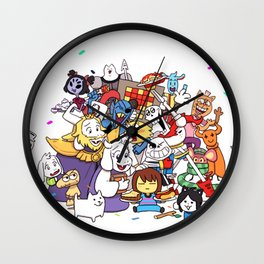 Undertale Wall Clock