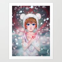 Warm my heart... Art Print